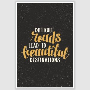 Beautiful Destinations Inspirational Poster (12 x 18 inch)