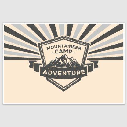 Adventure Poster (12 x 18 inch)