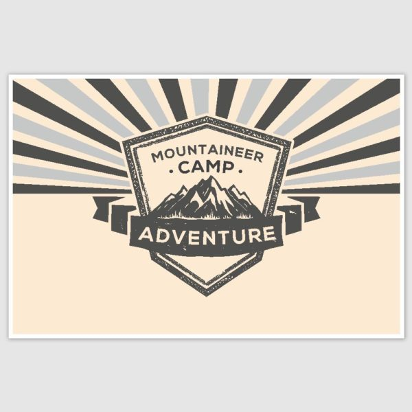 Adventure Poster (12 x 18 inch)