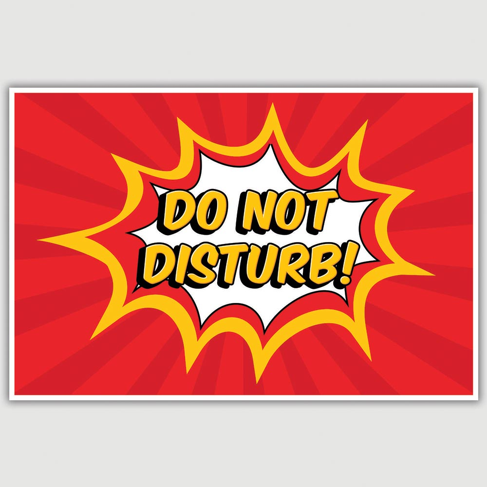 what does the do not disturb on iphone do do not disturb poster 12 x 18 inch inephos 21450
