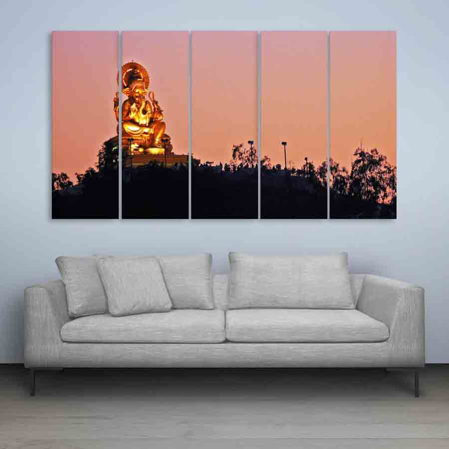 Multiple frames lord ganesha beautiful wall painting A wall painting