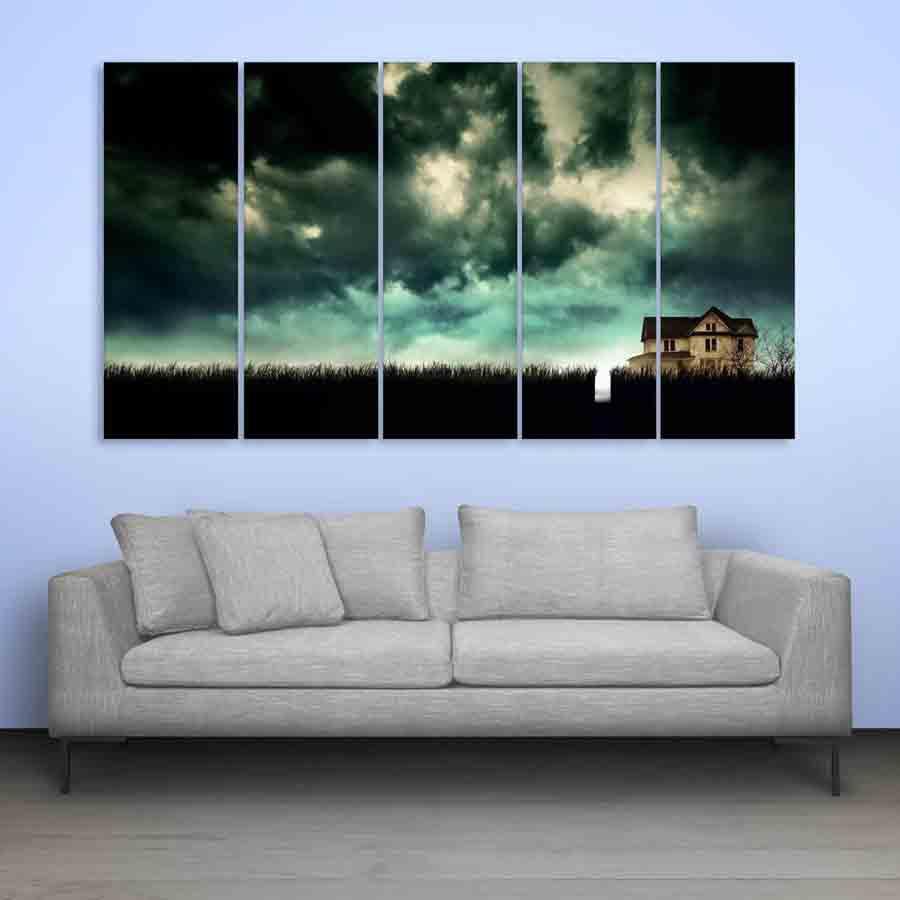 Multiple Frames On A Wall