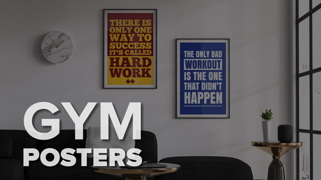 gym motivational posters