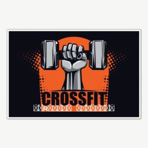 Crossfit Gym Poster Art | Gym Motivation Posters