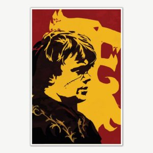 Tyrion Lannister Game Of Thrones TV Series Poster Art | TV Series Posters