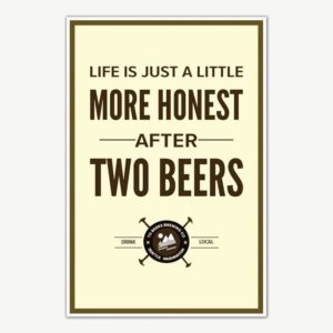 Beer Poster Art | Funny Posters For Room
