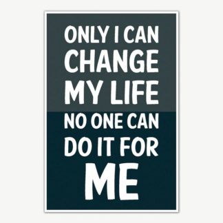 Change My Life Quotes Poster Art | Motivational Posters For Room