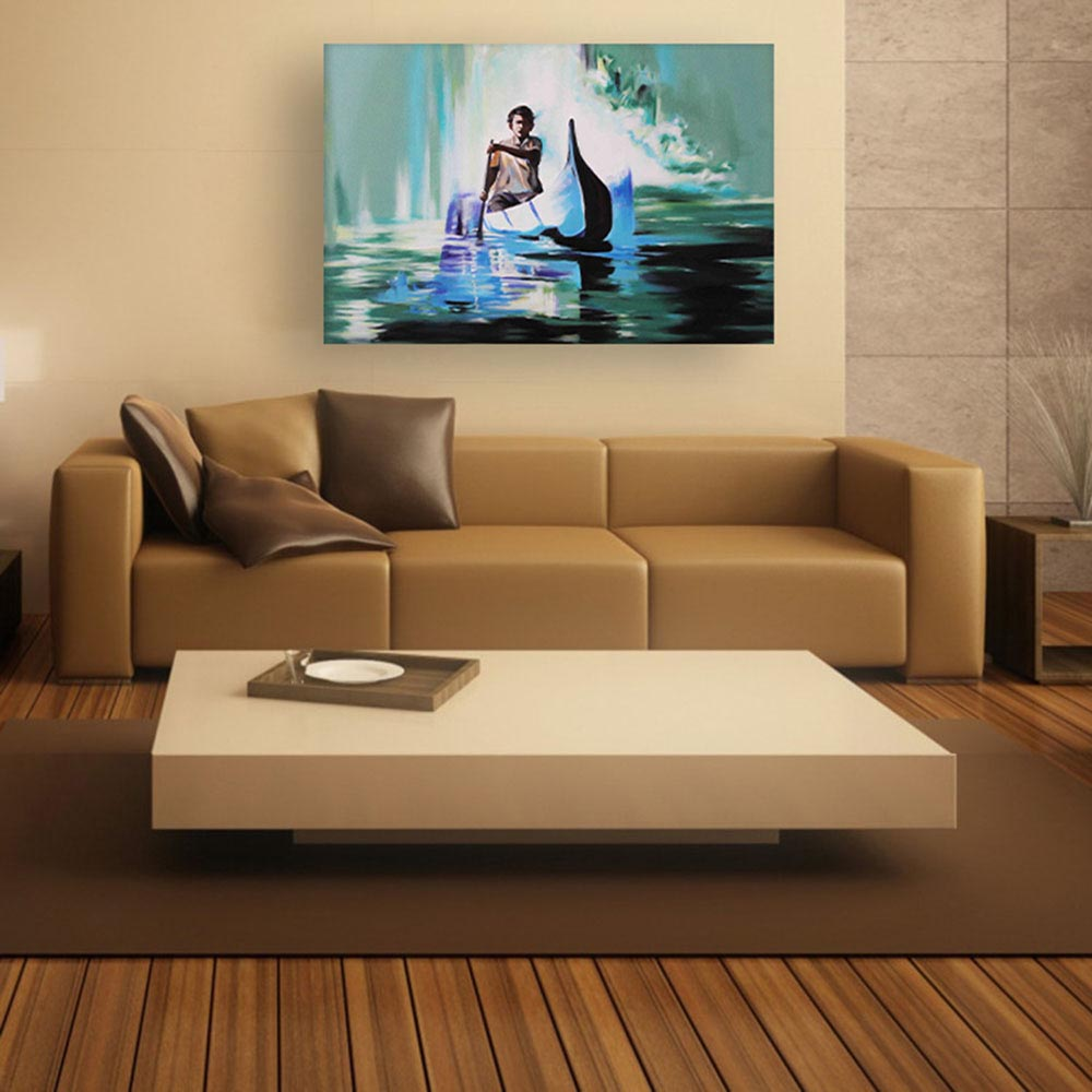 Canvas Painting Modern Art Wall For Living Room Bedroom Office Hotels Drawing 91cm X 61cm