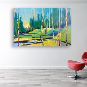 Canvas Painting – Modern Art Wall Painting for Living Room, Bedroom, Office, Hotels, Drawing Room (91cm X 61cm)