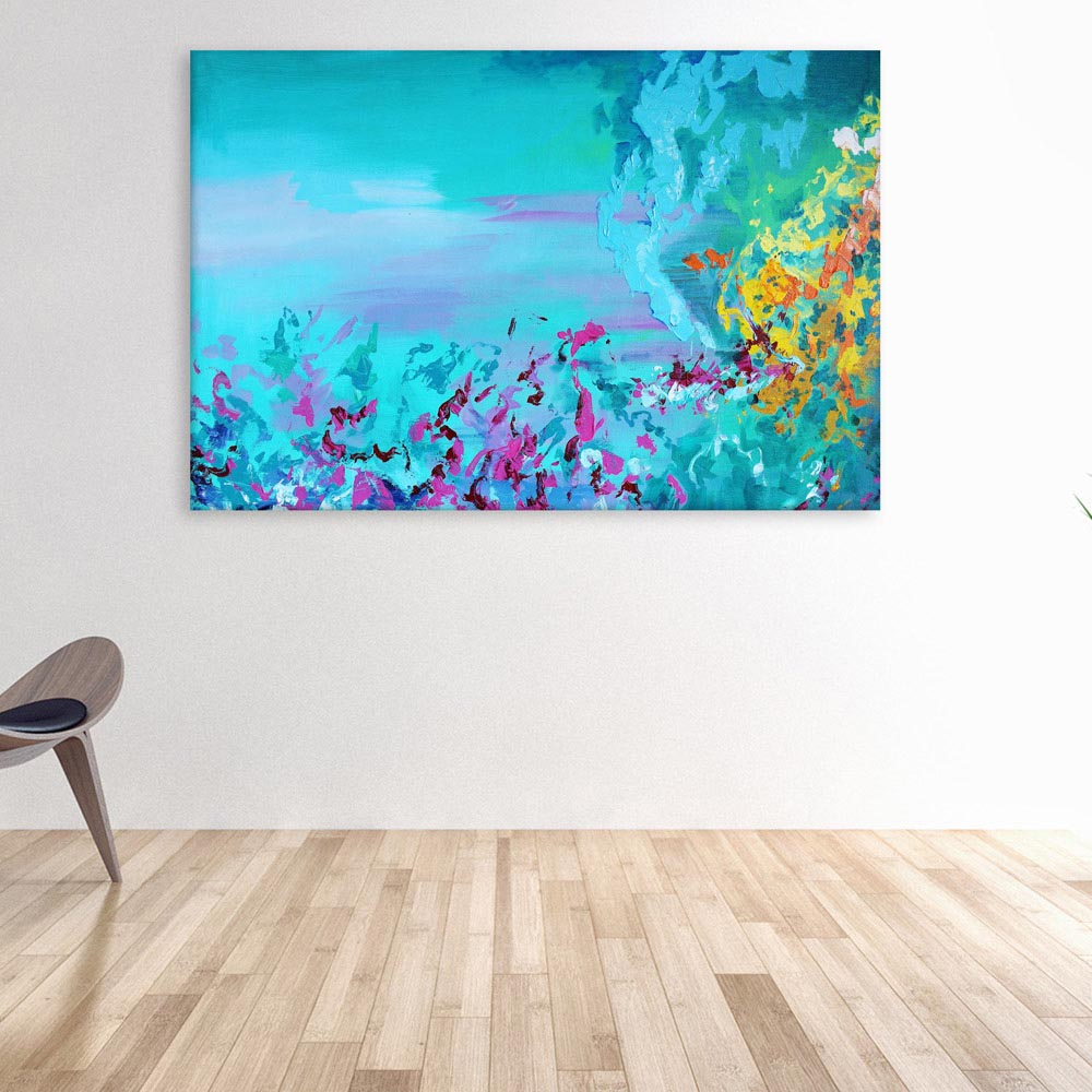Canvas Painting   Beautiful Modern Abstract Art Wall Painting For Living  Room
