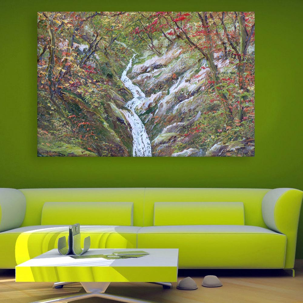 Canvas Painting Beautiful Nature Modern Art Wall Painting For Living Room Bedroom Office Hotels Drawing Room 91cm X 61cm