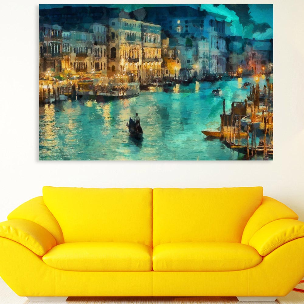 Magnificent Venice Wall Art Model - Wall Art Collections ...