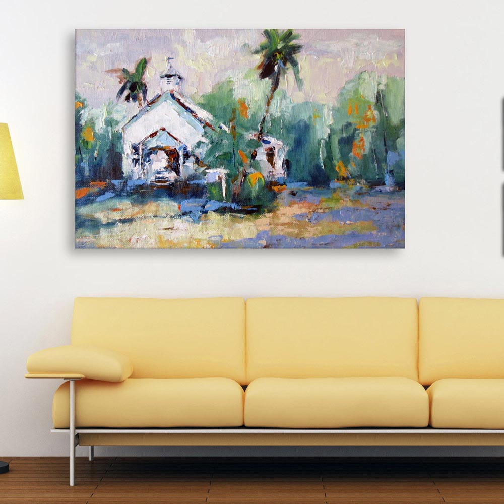 Canvas Painting - Beautiful Nature Modern Art Wall Painting for ...