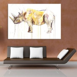 Canvas Painting – Beautiful Wildlife Art Wall Painting for Living Room, Bedroom, Office, Hotels, Drawing Room (91cm X 61cm)