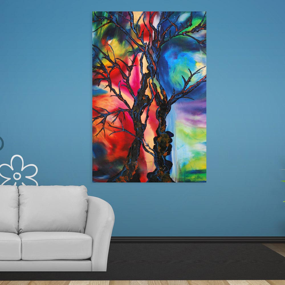 Beautiful Modern Abstract Art Wall
