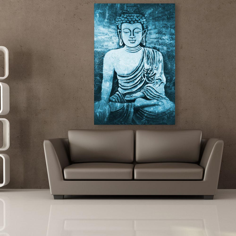 Canvas Painting   Beautiful Buddha Art Wall Painting For Living Room