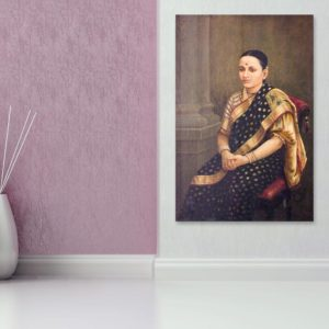 Canvas Painting – Raja Ravi Varma Painting – Wall Painting for Living Room, Bedroom, Office, Hotels, Drawing Room (91cm X 61cm)