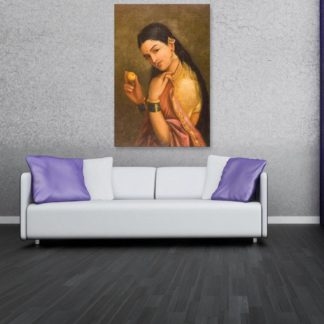 Canvas Painting - Raja Ravi Varma Painting - Wall Painting for Living Room