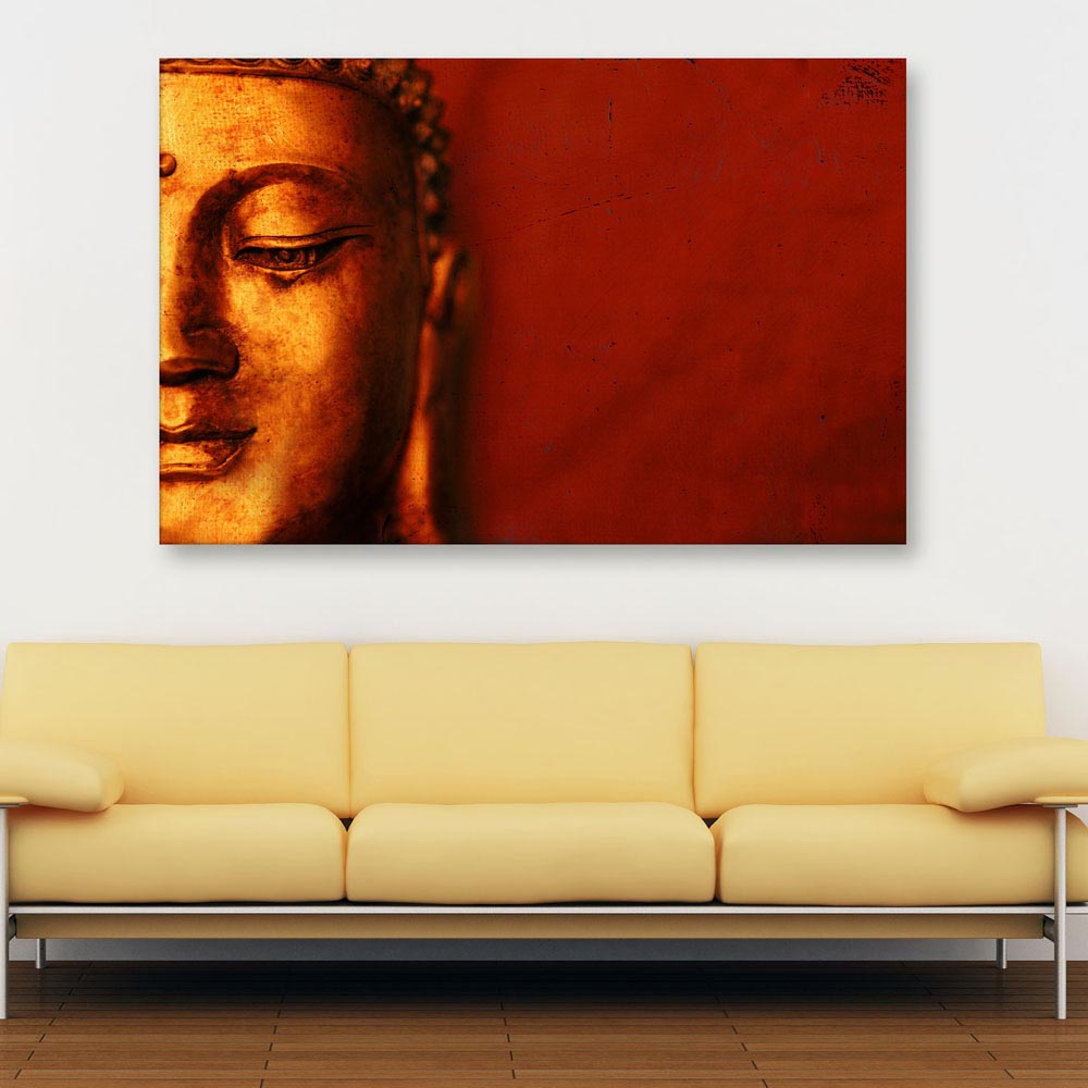 Canvas Painting Beautiful Buddha Art Wall For Living Room