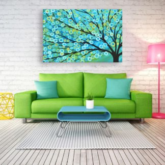 Canvas Painting - Beautiful Tree Art Modern Wall Painting for Living Room