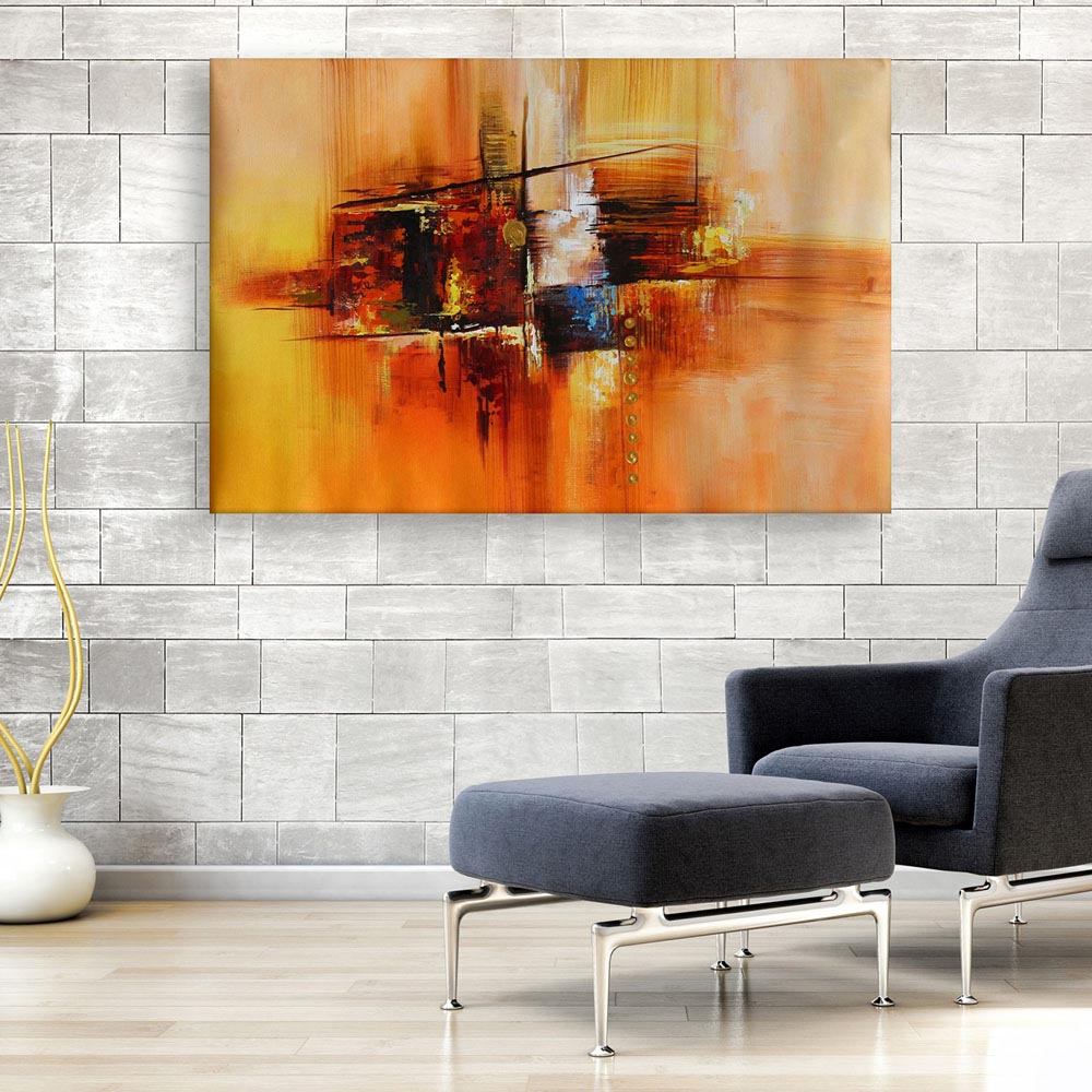 Canvas Painting Modern Abstract Art Wall Painting For Living Room Bedroom Office Hotels Drawing Room 91cm X 61cm