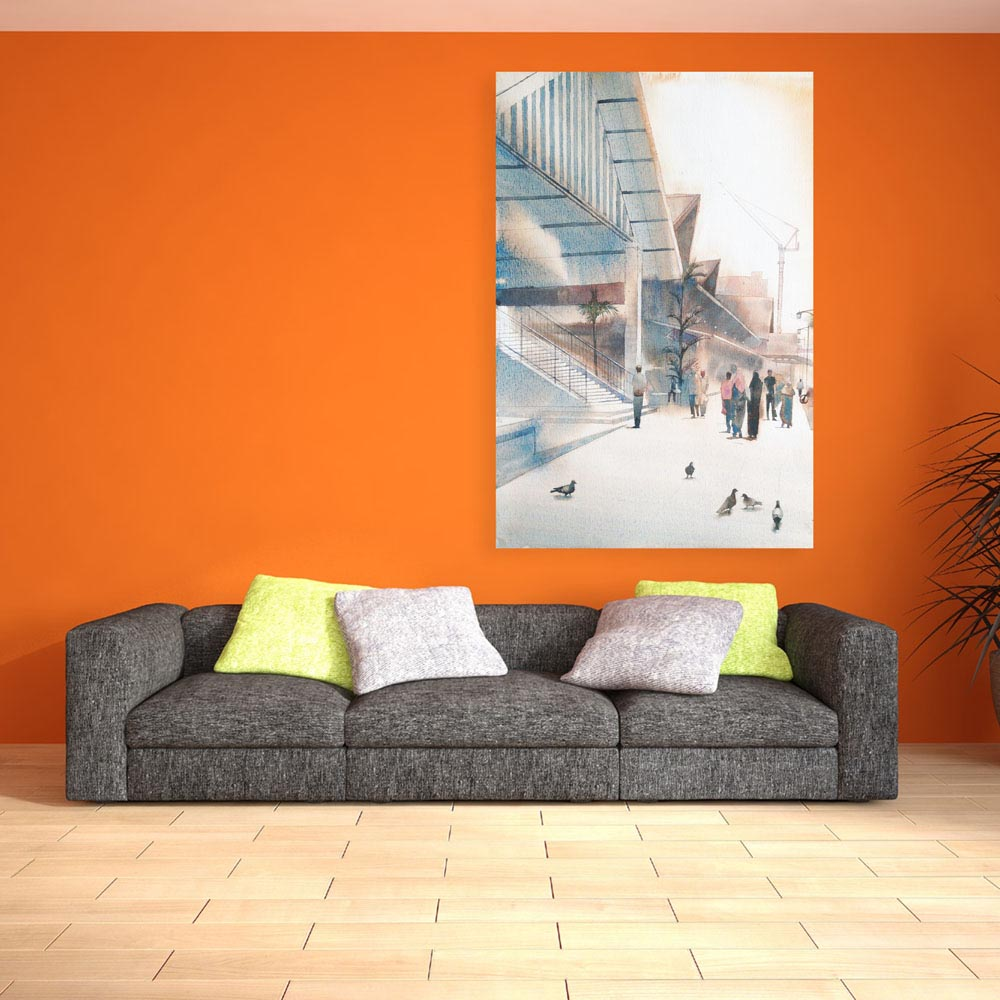 Modern Abstract Art Wall Painting