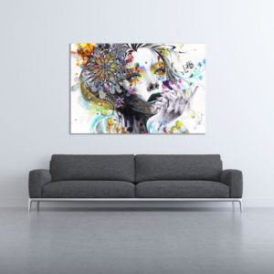 Canvas Painting – Beautiful Women Art Painting for Living Room, Bedroom, Office, Hotels, Drawing Room (91cm X 61cm)