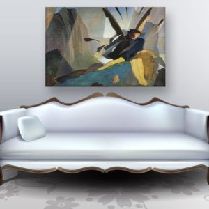 Canvas Painting – Modern Contemporary Art Wall Painting for Living Room, Bedroom, Office, Hotels, Drawing Room (91cm X 61cm)