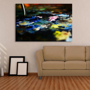 Canvas Painting – Abstract Modern Art Wall Painting for Living Room, Bedroom, Office, Hotels, Drawing Room (91cm X 61cm)