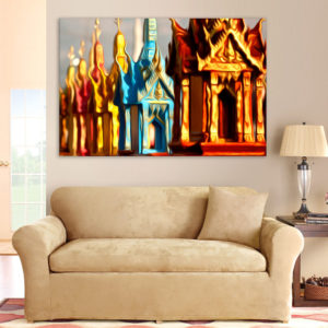Canvas Painting – Visual Arts Art Wall Painting for Living Room, Bedroom, Office, Hotels, Drawing Room (91cm X 61cm)