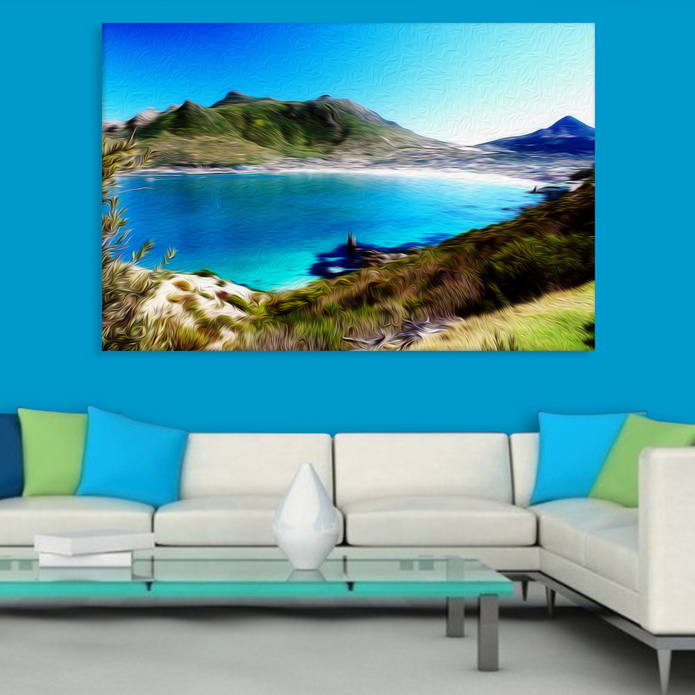 Canvas Painting Nature Art Wall Painting For Living Room Bedroom Office Hotels Drawing Room 91cm X 61cm