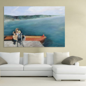 Canvas Painting – Beautiful Family  Art Wall Painting for Living Room, Bedroom, Office, Hotels, Drawing Room (91cm X 61cm)