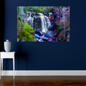 Canvas Painting – Beautiful Nature Waterfalls Art Wall Painting for Living Room, Bedroom, Office, Hotels, Drawing Room (91cm X 61cm)