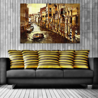 Canvas Painting - Beautiful Venice Italy Art Art Wall Painting for Living Room