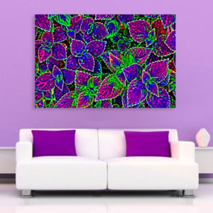 Canvas Painting – Beautiful Leaves Illustration Art Wall Painting for Living Room, Bedroom, Office, Hotels, Drawing Room (91cm X 61cm)