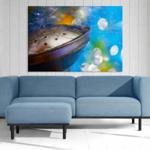 Canvas Painting – Beautiful Underwater View Art Wall Painting for Living Room, Bedroom, Office, Hotels, Drawing Room (91cm X 61cm)