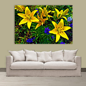 Canvas Painting – Beautiful Flower Floral Art Wall Painting for Living Room, Bedroom, Office, Hotels, Drawing Room (91cm X 61cm)