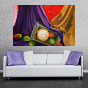 Canvas Painting – Still Life Illustration Art Wall Painting for Living Room, Bedroom, Office, Hotels, Drawing Room (91cm X 61cm)