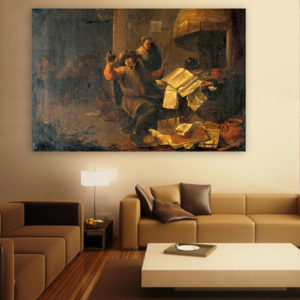 Canvas Painting – Alchemy Art Wall Painting for Living Room, Bedroom, Office, Hotels, Drawing Room (91cm X 61cm)