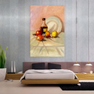 Canvas Painting – Still Life Art Wall Painting for Living Room, Bedroom, Office, Hotels, Drawing Room (61cm X 91cm)