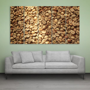 Multiple Frames Beautiful Grains Wall Painting for Living Room, Bedroom, Office, Hotels, Drawing Room (150cm x 76cm)