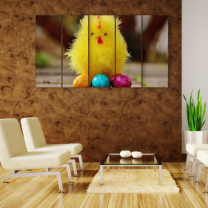 Multiple Frames Beautiful Chick Wall Painting for Living Room, Bedroom, Office, Hotels, Drawing Room (150cm x 76cm)