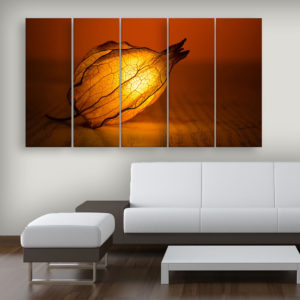 Multiple Frames Beautiful Lighting Flower Wall Painting for Living Room, Bedroom, Office, Hotels, Drawing Room (150cm x 76cm)